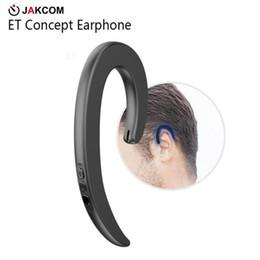 JAKCOM ET Non In Ear Concept Наушники Горячая распродажа в наушниках Наушники как настоящий беспроводной стерео 18650 батарея детектор золота от