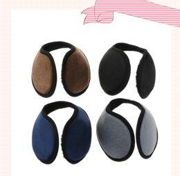 Серая одежда онлайн-Winter Unisex Earmuff Ear Muff Wrap Band Ear Warmer Earlap Gift Black/Coffee/Gray/Navy Blue Apparel Accessories