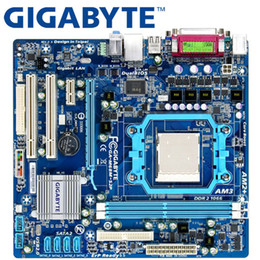 Socket am2 desktop online-GIGABYTE GA-M68M-S2P Placa base 630A Socket AM2 / AM2 + AM3 Para Phenom II Athlon II Sempron 100 DDR2 8G usado