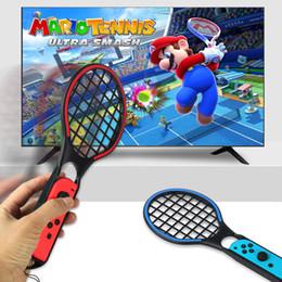 1 Par Interruptor de Rack de Tênis Titular Punho para Nintendo Switch NS Acessórios jogo de Tênis ACES Jogo de