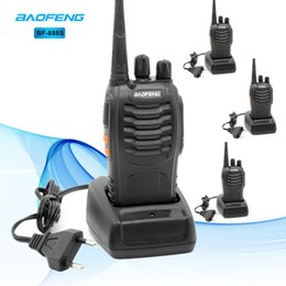 radio comunicador Coupons - 4pcs Baofeng BF-888S Walkie Talkie UHF 5W 400-470MHz 16CH Handheld Two-Way Radio Comunicador Scan Monitor Ham CB Radios BF 888s