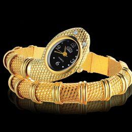 2019 relógios oval para mulheres Cobra Relógio De Pulso Das Mulheres Relógios de Luxo Pulseira De Ouro Relógios das Mulheres Senhoras Da Moda Relógio Relógio relogio feminino bayan kol saati desconto relógios oval para mulheres