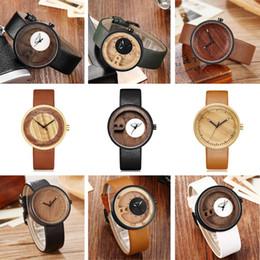 marine holz Rabatt Männer Frauen Bambus Holz Uhr Mann Damen Holz Armbanduhren Original Paar Retro Quarzuhr reloj de madera Relogio Masculino