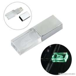 memoria flash usb de memoria de 128 gb Rebajas 2018 personalizada mini portátil USB TF Micro SD del altavoz MP3 del disco de música MP3 amplificador estéreo jugador con color verde LED parpadeante DHL
