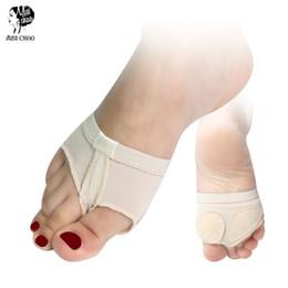 Weiche Vorfuß-Mittelfußpolster - Ballett-Bauchtanzschuhe Pfotenschuh-Fuß-Zapfen Halbsohlenschutz-Tanzsocken von Fabrikanten
