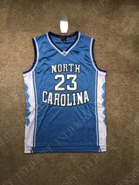 Talons bon marché pour les hommes en Ligne-Coutume pas cher Michael North Carolina Tar Heels NCAA Basket Jersey Stitch personnaliser un nom de nom HOMME FEMME JEUNESSE XS-5XL