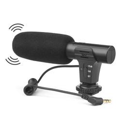 mikrofon für dslr kamera Rabatt Universal-Stereo-Mikrofone Diktiergerät Mikrofone für Digitalkamera Camcorder DSLR-Videorecorder VCR