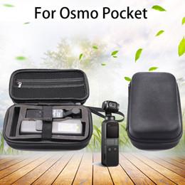 Bolsillo DJI OSMO bolsillo portátil Cardán Accesorios Caja de almacenamiento portable impermeable Caso Negro cremallera bolsa para DJI Osmo desde fabricantes