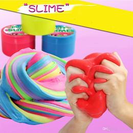 Fango Fluffy Fata Nuvola Slime Putty Fango Kids Toy Gift fai da te