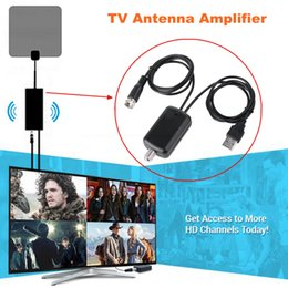2b7624f22e668a cable tv digital Promo Codes - Antena Digital HDTV Signal Amplifier Booster  for Cable TV Fox