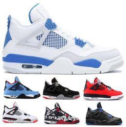 sports shoes 57e9a 25079 Flight Basketball Schuhe 4 4s Sneakers Herren Damen 2019 Lila Zucht NRG  Wings Pale Citrron Sngl Kaktus Jack Thunder Toro Bravo Baskets Schuhe  günstige toro ...