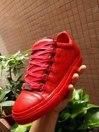 f5da039f57c57 Scarpe da ginnastica uomo mens blu nero bianco rosso di marca scarpe da  uomo di alta qualità sexy degli uomini del progettista scarpe da uomo lace  up scarpe ...