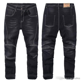 ad683f70af0 Autumn Winter Mens Large Size Jeans Men s Fattening Increase Denim Blue  Black Loose Jeans Fat Young Big Guy Pants Plus Size 28-58 JS620