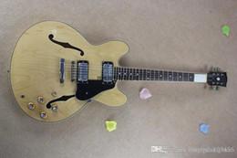 guitare corps creux Promotion 2014 nouveau style guitare électrique jazz de haute qualité fabriqué à la main, corps creux, livraison gratuite, spectacles de photo réels