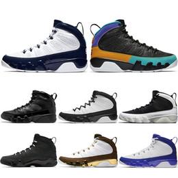 best service c1c04 3af7b 2019 retro tennis shoes Nike Air Jordan Retro Top 9 9s Männer  Basketballschuhe UNC Dream It