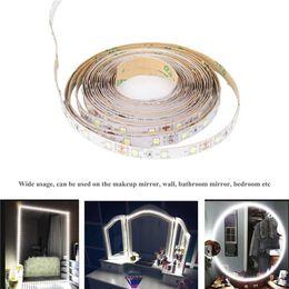 2019 тв-макияж 13ft/4M 240 LEDs Led Vanity Mirror Dimmer Lights Strip Night Strip for TV Background Lighting  Mirror Light Kit скидка тв-макияж