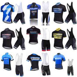 2019 summer GIANT Men Pro Team Ciclismo mangas cortas jersey bib shorts  establece MTB Cycling Jersey transpirable secado rápido ropa deportiva 2438L 7e19ceb43