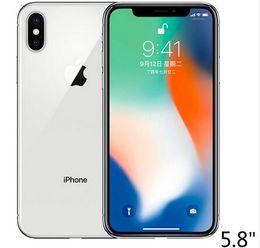 """2019 telefone original do teclado árabe Original Apple iPhone X SEM IDENTIFICAÇÃO de Rosto 3 GB RAM 64 GB 256 GB ROM 5.8 """"iOS Hexa núcleo 12.0MP Dual Câmera Traseira Desbloqueado 4G LTE Telefone Recondicionado"""