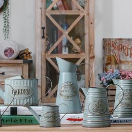 Hermoso jarrón de decoración online-Venta caliente País Americano Hermoso Florero Decoración del hogar Estilo Vintage Muebles Simulación Floreros
