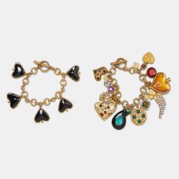 Dvacaman Za Bracelets Pour Femmes Cristal Simulé Perle Coeur Perles Chaîne Bracelets En Métal À La Main Accessoires Bijoux En Gros Ax5 C190420 ? partir de fabricateur