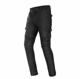 motorcycle factory direct Promo Codes - Factory direct sales motorcycle riding jeans motorcycle racing rider anti-fall jeans casual pants