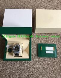 relógio de moldura preta Desconto Super Fábrica V6s 2813 Movimento Relógio de Cerâmica Preta Bezel De Vidro De Safira 40mm 116610 116610LN Mens Watch Relógios New style caixa original