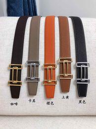 Acessórios de vestuário para homem on-line-2019 marca cintos de roupas masculinas Acessórios cintos de negócios para homens fivela grande moda mens cintos de couro atacado T-M2