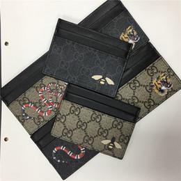 2019 geschäftskontrolle inhaber Designer-Kartenhalter Brieftasche Mens Womens Luxus-Kartenhalter Handtaschen Leder-Kartenhalter schwarze Geldbörsen kleine Brieftaschen Designer-Geldbörse 8877665