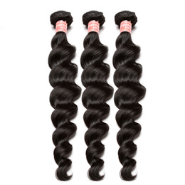 Lose Welle Bundles Brasilianische Reine Haarwebart Bundles 100% Echthaarverlängerung Ein Stück Natürliche Farbe Dolago von Fabrikanten