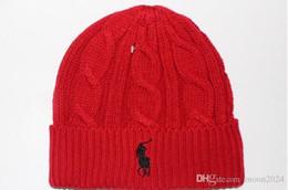 Tide marca hombre mujer invierno gorrita tejida casuales deportes gorra de esquí gorro negro gris azul rojo alta calidad cráneo gorras desde fabricantes