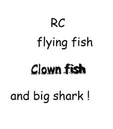 Canada RC Flying Fish Télécommande Jouets Air Swimmer Jouet Gonflable Jouet Cadeaux De Noël Air Elfes B11 Offre