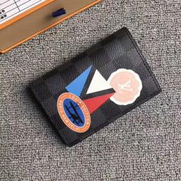 Cinturones de tarjeta de crédito online-2019 Nuevo N64440 Organizador de Bolsillo Tarjeta de Crédito Clásico Titular de la Cartera Paquete de Tarjetas Portátiles Carteras Monedero Mini Embragues Exóticos Cinturón de Cadena de Noche