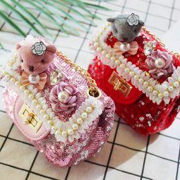 mejor mini bolsa de mensajero Rebajas Nuevos bolsos para niños niñas bolsos para niños mini Bolsas para niñas Bolsos de perlas para niños Las mejores bolsas Bolsos de mensajero para niñas Bolso de hombro para niños A3501