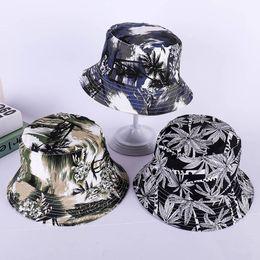 LDSLYJR 2018 stampa tropicale foresta benna corsa esterna Cappello pescatore del sole della protezione cappelli per gli uomini e le donne 246 da cappello di trilby grigio fornitori