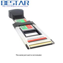 2019 cartão sim usado Express Express 34 PCMCIA 54 Conversor para PC Card Adapter 34mm para 54mm cardbus para expresscard desconto cartão sim usado
