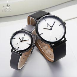 paar armband set leder Rabatt Shengke Männer Frauen Paar Uhren Set Mode Lederband Quarzuhr Reloj 2019 New Business Top-Marke Armband Uhren Handgelenk