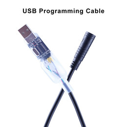 manípulo de carbono mate Desconto atacado bicicleta Componentes eBike USB cabo de programação para Bafang BBS01B BBS02B BBS03 BBSHD Mid acionamento elétrico bicicleta Motor Programmed Cable