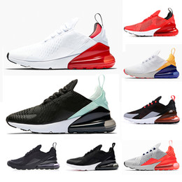 meet 2d38d cef44 Nike Air Max 270 Betrue Black core White volt 270 Scarpe da corsa 270s Teal  Men Flair light bone Trainer Sport Bruce Lee Women foto blue Sneakers 36-45