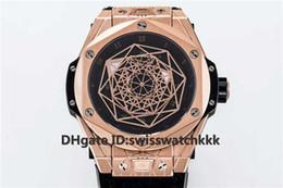 TMF Nuovo 415.NX.1112.VR.MXM16 orologi di design Miyota 27 Cassa automatica in oro rosa con zaffiro Cinturino in pelle fondello trasparente Orologio da uomo da