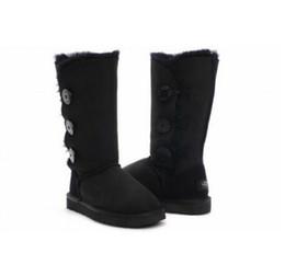 Venda quente 2019 Alta Qualidade Austrália Clássico das Mulheres altas Botas botas Mulheres Botas de Neve botas EUA TAMANHO 4--12 frete grátis de Fornecedores de botas femininas de cor branca
