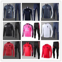 9ceacaf9a1 2018 19 2 Star Fr Formation de vêtements veste survêtement Pays-Bas de pied  GRIEZMANN veste Combinaison d entraînement TAILLE S-XL