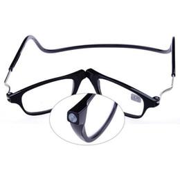 Gafas de lectura magnética populares de 3 colores con dioptrías +1.0 +1.5 +2.0 +2.5 +3.0 +3.5 +4.0 Hombres Mujeres Gafas Gafas al por mayor desde fabricantes