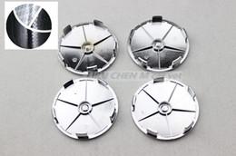 Rodas de carbono branco on-line-100 pcs 68mm preto branco centro de roda de fibra de carbono cap hub caps emblema logotipo emblemas estilo do carro