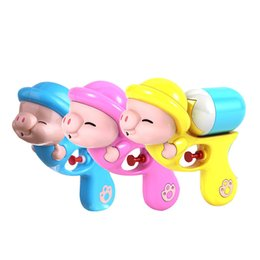 2019 pale giocattolo Acqua Spray Toy Mini Piglet Plastic Summer Toys All'aperto Sandy Beach Bambini Playthings Sand Play Paddle Kids 4 1ty N1 sconti pale giocattolo