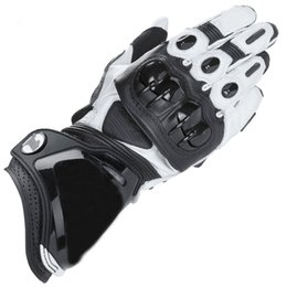 black leather race gloves Promo Codes - GP PRO Motorcycle Gloves Moto GP-1 Racing Team Driving Gants De Moto Genuine Leather Motorbike Cowhide Gloves Free Shipping