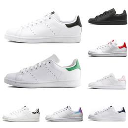 innovative design cfbf4 797f4 Cheap adidas smith uomo donna casual scarpe verde nero bianco blu rosso  rosa argento mens stan moda scarpa in pelle classic appartamenti sneakers  taglia 36- ...