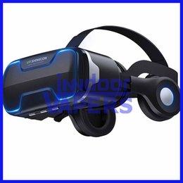 Deutschland VR Shinecon G02ED Kopfhörer Headset Stereo 3D Virtual Reality Glas Smartphone VR Box Für Android IOS Samsung iPhone Smartphone Versorgung