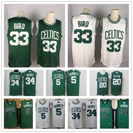 2020 maillots de garniture Vintage Boston