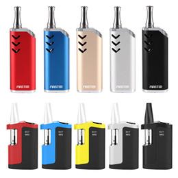 Mod cigarros eletrônicos on-line-100% Original ECT MIQ Kit Vape Mod para óleo grosso cartuchos vape 350mAh Box Mod 510 Tópico bateria bobina cerâmica cigarro eletrônico