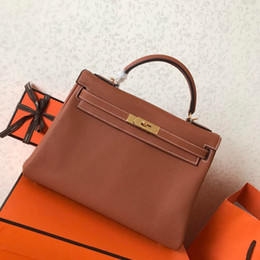 6d57b00c2 2019 senhoras bolsas de couro feitas à mão A mais alta qualidade das  senhoras de luxo
